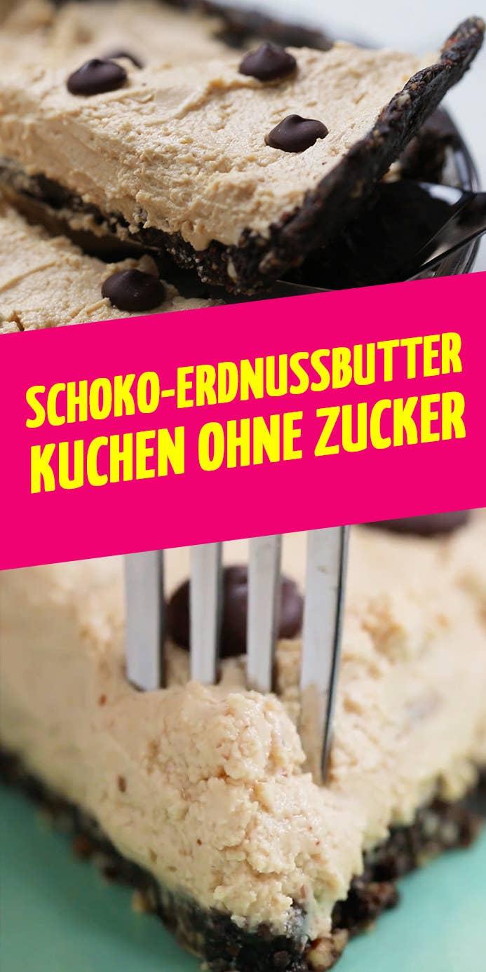 Dieser Fluffig Leichte Schoko Erdnussbutter Kuchen Ist Ohne Zucker