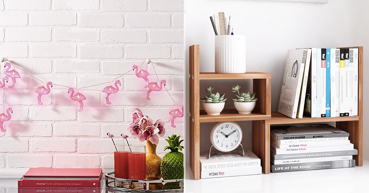 31 inexpensive items that will make your dorm feel more for Home decor quiz buzzfeed