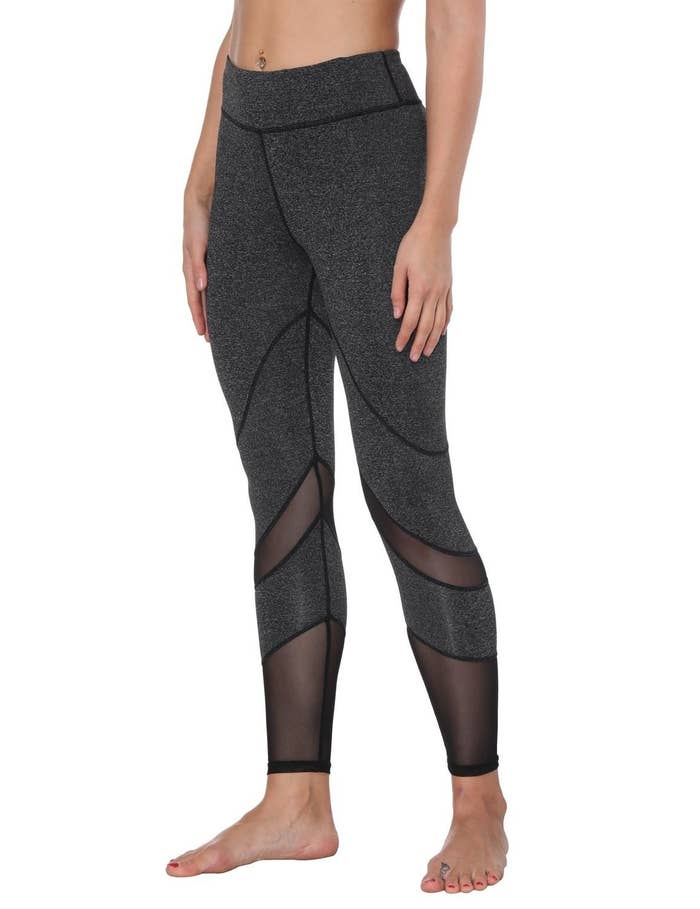 699973b2e8e46 Mesh-paneled leggings you'll basically live in for the rest of your days.  *waves a tearful goodbye to the jeans that will no longer be of use*