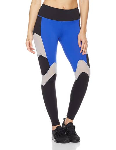 29322541a65b6 Colorblock leggings for people who want to be bright! Bold! Taking risks!  Standing out! Living their best life!