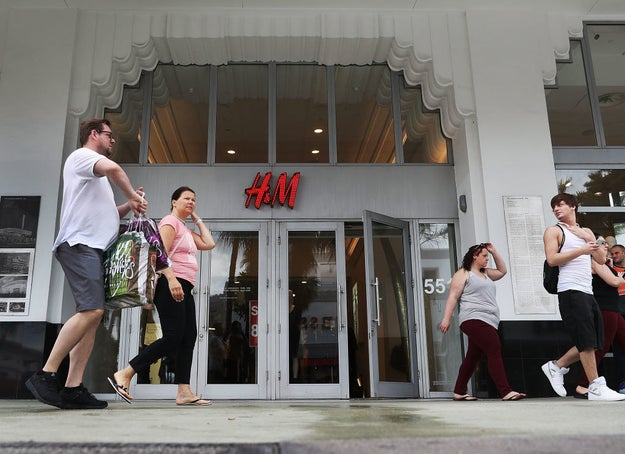 People Aren't Shopping At H&M, So Everything Is On Sale