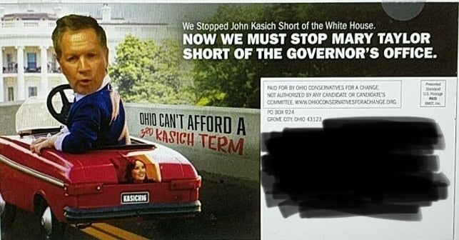 An image of the mailer, provided to BuzzFeed News.