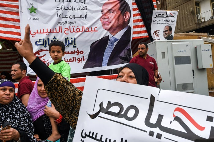 A lot of people have compared the election to what took place in Russia recently — Sisi is pretty much guaranteed to win.