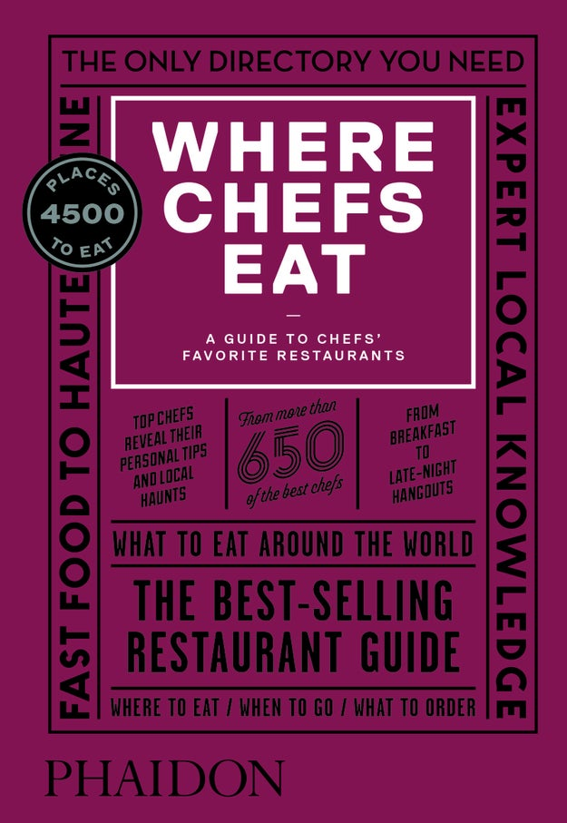 For more top tips, check out Where Chefs Eat (3rd Edition) Where Chefs Eat edited by Joe Warwick and published by Phaidon