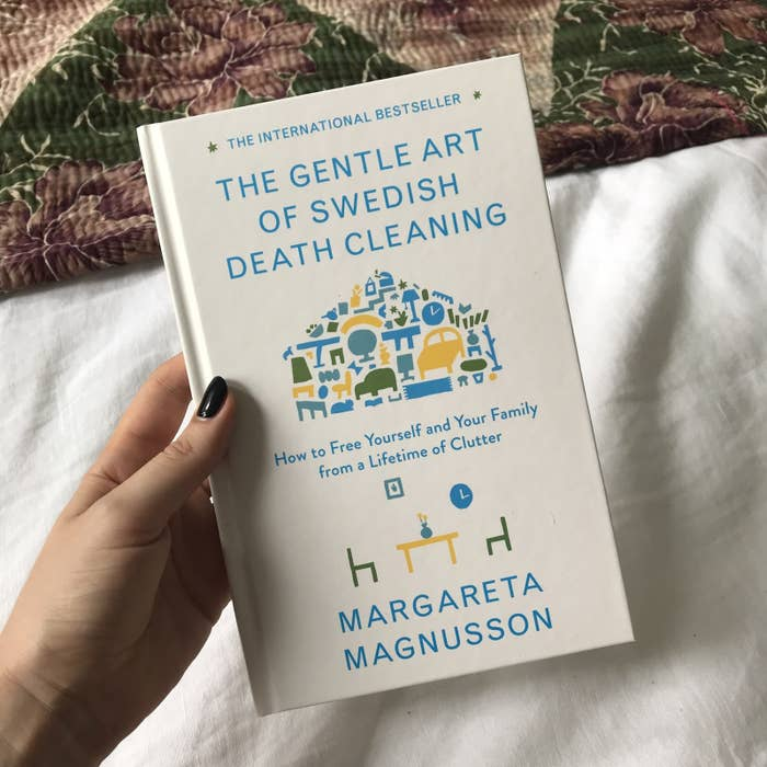 In Swedish, the word for death cleaning is döstädning, which is a term for the cleaning and de-cluttering you do when you think your time on Earth might be coming to an end. But really, you can death clean at any age or stage in your life.A complete guide, The Gentle Art Of Swedish Death Cleaning, was released in January this year and the concept has since spread the word all around the world.