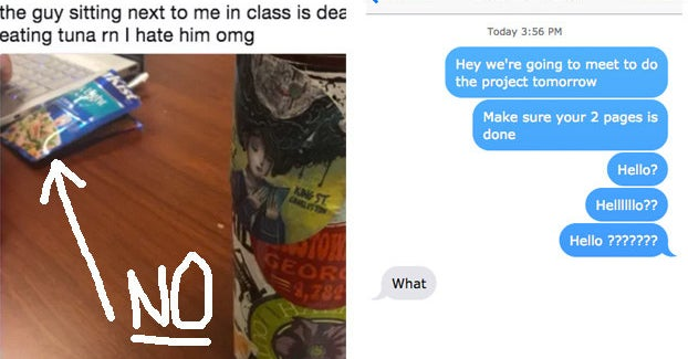 16 People Who Should Be Banned From Every College Class Forever