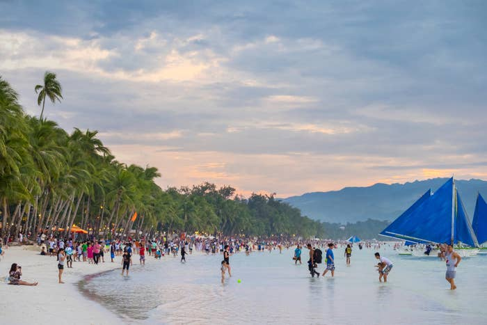 The Philippine Department of Environment and Natural Resources, The Department of Tourism, and the Department of Interior and Local Government have recommended a six-month closure of the island due to poor solid waste management, solid waste contamination of the beach, and illegal constructions. President Rodrigo Duterte and the House of Representatives tourism committee have supported the recommendation, and plans are underway to ban domestic and foreign tourists from the island from April 26. A final decision is expected on April 5.