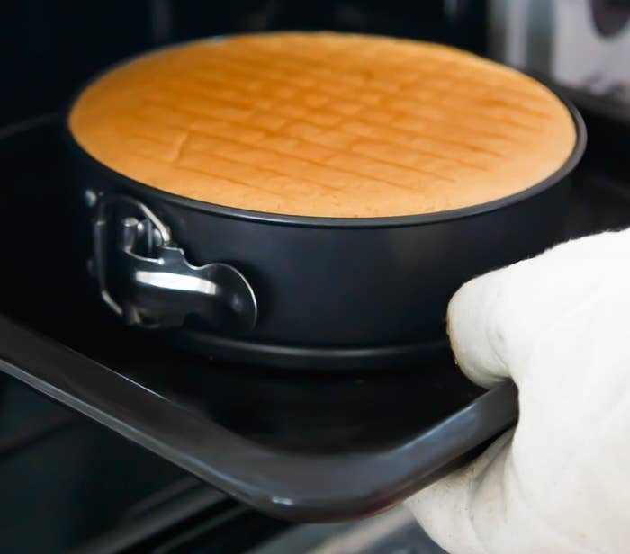 """Promising review: """"I made a delicious Key Lime Pie using this springform pan in my new Instant Pot today. Many people recommended this accessory so I purchased it along with the pressure cooker. The size is perfect for my 6-quart model and the pie cooked just right and came out of the pan beautifully. Someone on Pinterest recommended using it for meatloaf in the Instant Pot. Will be trying that soon."""" —Jo A. ShuermannPrice: $11.85"""
