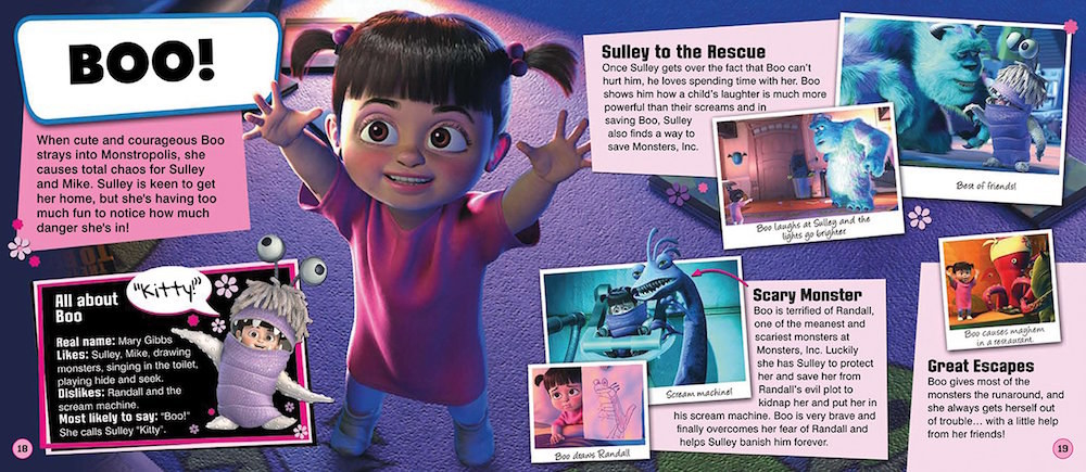 Boo From Monsters Inc Is Named After A Real Person And I Found Her