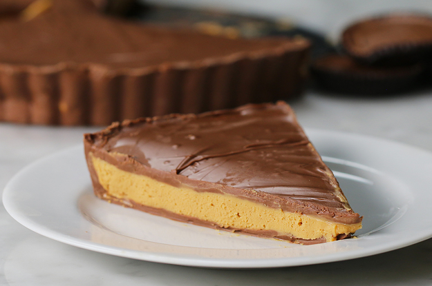 Esta torta de manteiga de amendoim com chocolate é prova de que os sonhos se realizam