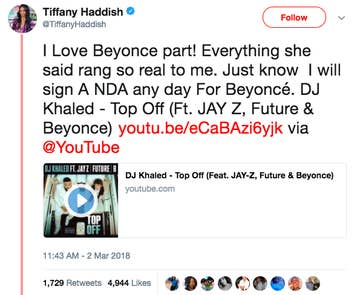 Beyoncé Allegedly Dissed Tiffany Haddish In Her New Song And Now