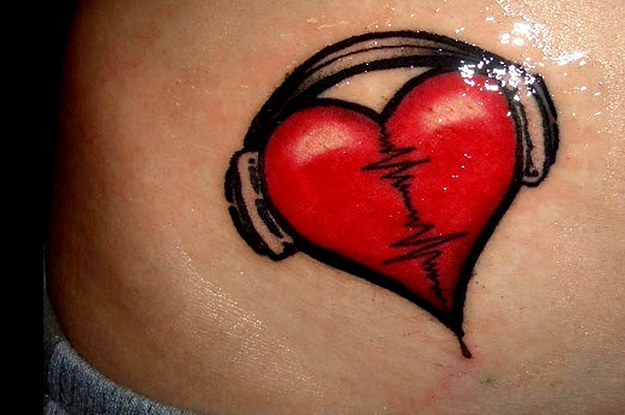 25 Inspiring Tattoos All Music Lovers Will Appreciate