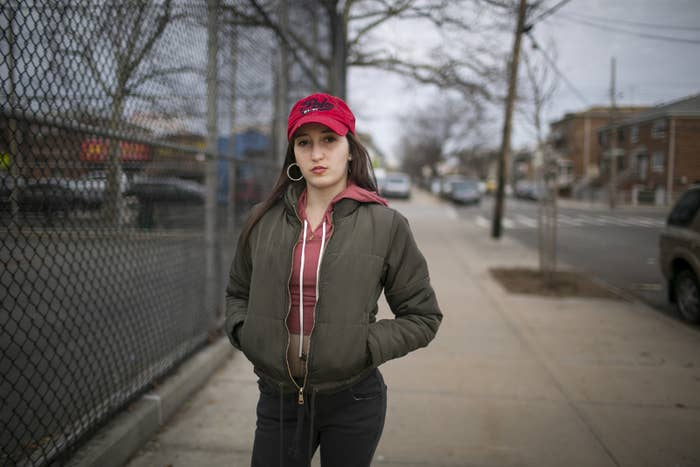 Anna Chambers says two on-duty NYPD cops raped her while she was in custody; their lawyer says it was consensual.