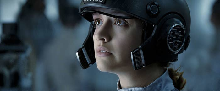 Olivia Cooke in Ready Player One.