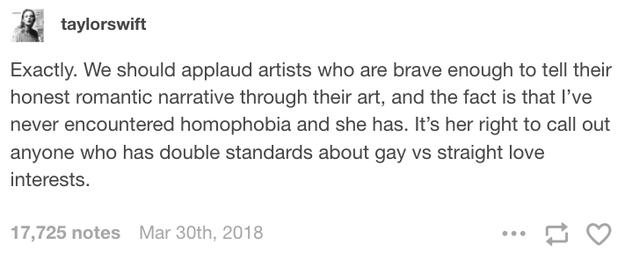 And then, just to OFFICIALLY put the matter to rest, Taylor reblogged that defense of Hayley, and added her own comment: