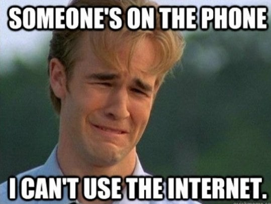 In case you weren't alive at the time (I was five), the meme comes from 1998's hit series Dawson's Creek. (A lot of them are '90s themed, fwiw.)