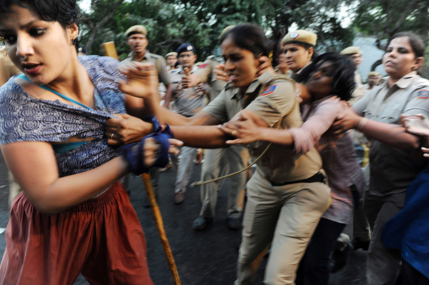 A Woman Who Went Viral For Being Assaulted During A Protest Is Now Facing Arrest