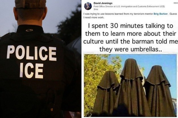 An Ice Director Apologized After Sharing A Meme Depicting Umbrellas
