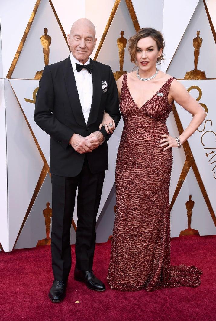 Patrick Stewart e Sunny Ozell