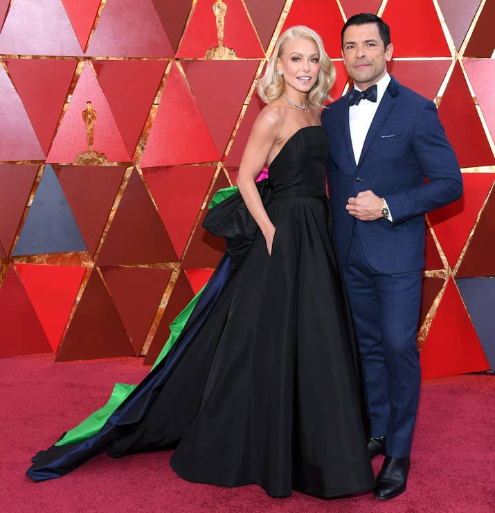 Kelly Ripa e Mark Consuelos