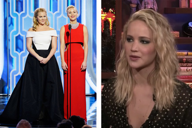 Amy Schumer Had Some Pretttty Harsh Words For Jennifer Lawrence After Her Break-Up