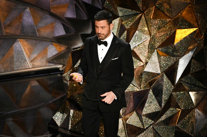 """Kimmel did not shy away from #MeToo or Time's Up during his opening monologue, spending a significant amount of time addressing the discussions of sexual misconduct that have taken center stage in Hollywood since October 2017. That ranged from the usual monologue jokes (""""Here's how clueless Hollywood is about women,"""" Kimmel said. """"They made a movie called What Women Want and it literally starred Mel Gibson."""") to more earnest dedications to a better Hollywood. """"We can't let bad behavior slide anymore,"""" Kimmel said. """"The world is watching us. We need to set an example. And the truth is, if we are successful here, if we can work together to stop sexual harassment in the workplace, if we can do that, women will only have to deal with harassment all the time at every other place they go.""""""""Over the course of this evening, I hope you will listen to many brave and outspoken supporters of movements like #MeToo and Time's Up and Never Again, because what they're doing is important,"""" he continued. """"Things are changing for the better — they're making sure of that. It is positive change."""""""