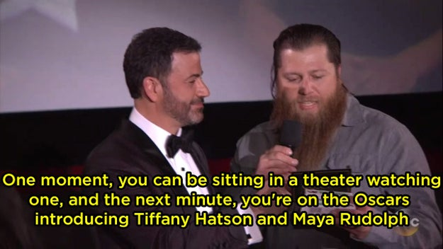 A fan introduced Tiffany Haddish as Tiffany Hatson (???):