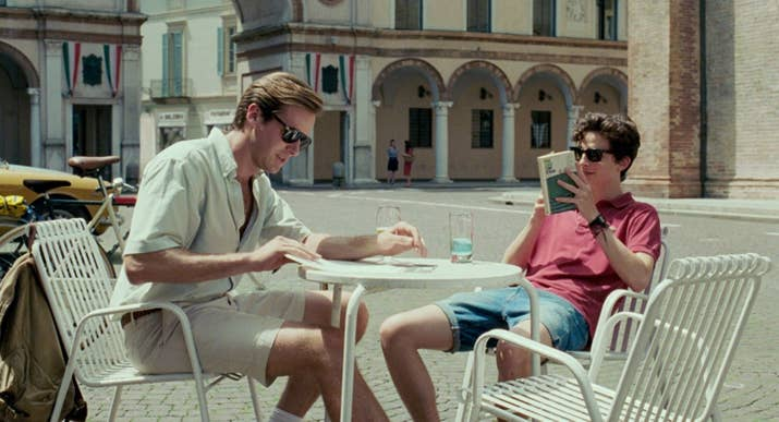 Call Me By Your Name, James Ivory