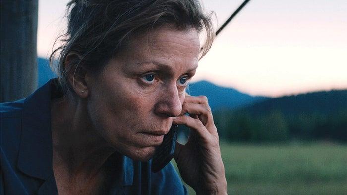 Winner: Frances McDormand, Three Billboards Outside Ebbing, MissouriSally Hawkins, The Shape of WaterMargot Robbie, I, TonyaSaoirse Ronan, Lady BirdMeryl Streep, The Post