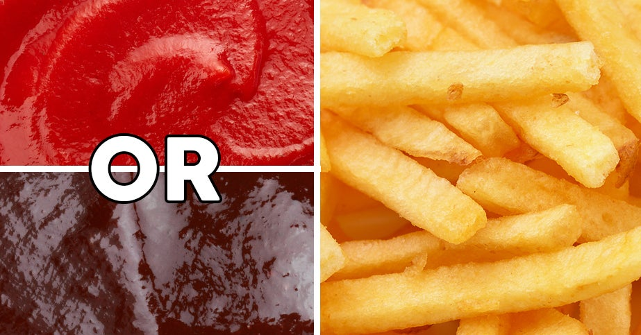 Choose Some Condiments And We'll Tell You What Job You Should Have