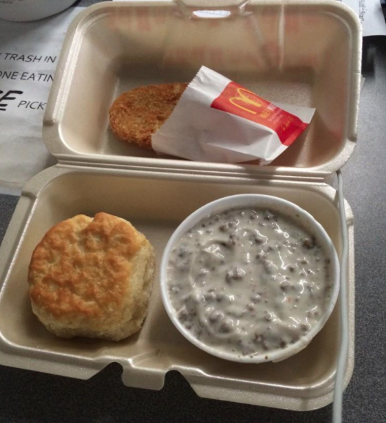 Missouri – Biscuits and Gravy from McDonald's