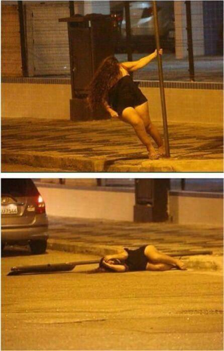 This pole dancer: