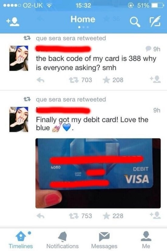 RIP to this girl's bank account:
