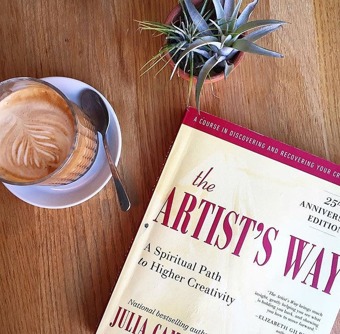 """The Artist's Way is a guide for everyday people looking to be more creative, and it includes a lot more tips than just doing morning pages. (There are basically different """"assignments"""" you work through each week.) But for whatever reason, morning pages are the breakout concept."""