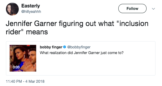 Jennifer Garner Had A Big Epiphany At The Oscars And It's  Now A Hilarious Meme