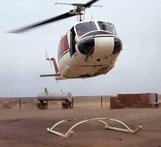 This pilot's predicament: