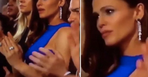 Jennifer Garner Had A Huge Realization At The Oscars And Now It's A Meme