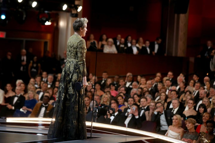 Women In Hollywood Say Frances McDormand's Oscar Speech Is A Complicated Call To Action