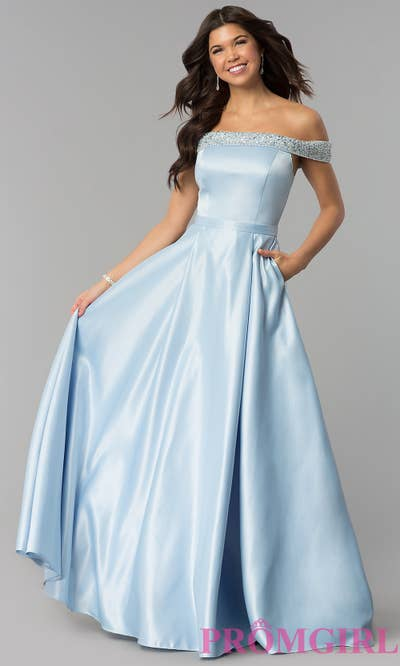 a8c56302ac3 PromGirl offers thousands of gowns worthy of a Disney princess so your prom  night can be the fantasy you ve always dreamed of.