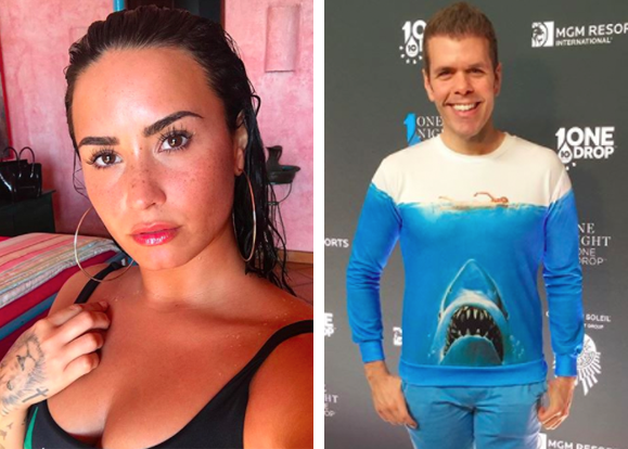 You know superstar Demi Lovato and celebrity blogger Perez Hilton.