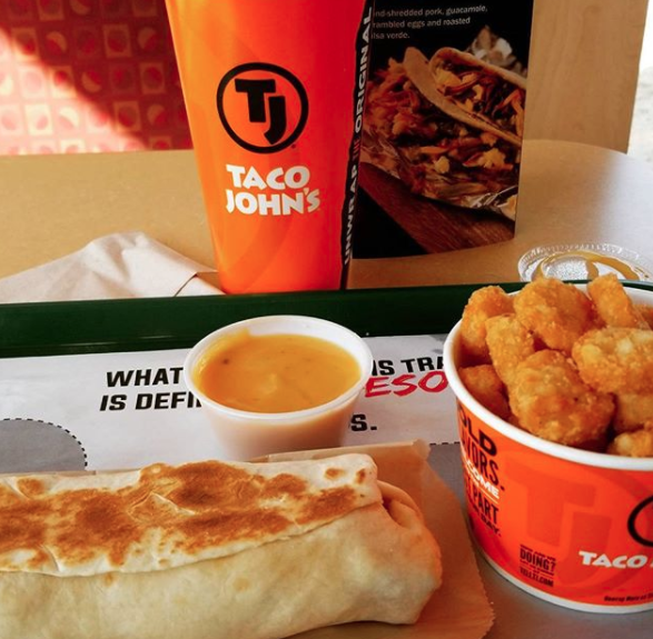 South Dakota – Chicken Grilled Burrito from Taco John's