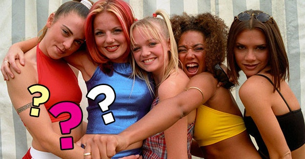 Tell Us A Little About Yourself And We'll Give You Your Spice Girl Name