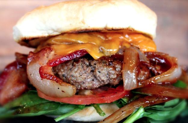 Utah – The Kangaroo Burger from Lucky 13