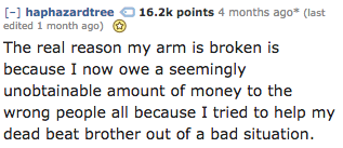 Yikes, apparently mob ties are real: