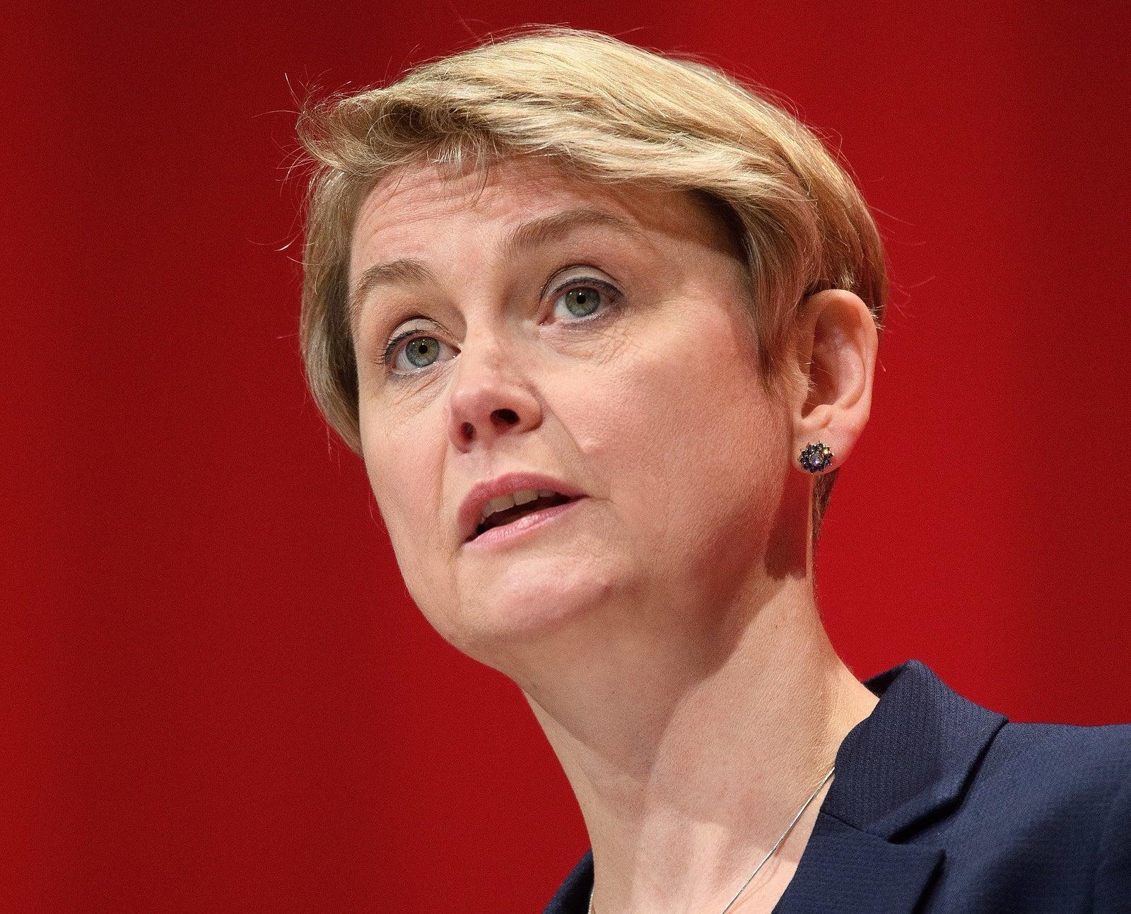 Labour MP Yvette Cooper