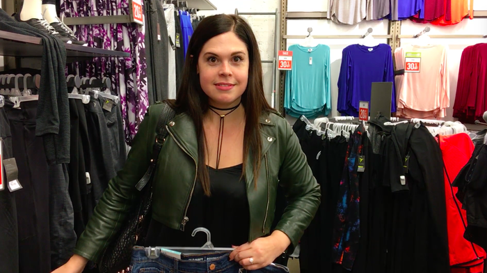 The clothing that fits her on any given day can range between a size extra small to a size 14. How is that possible?
