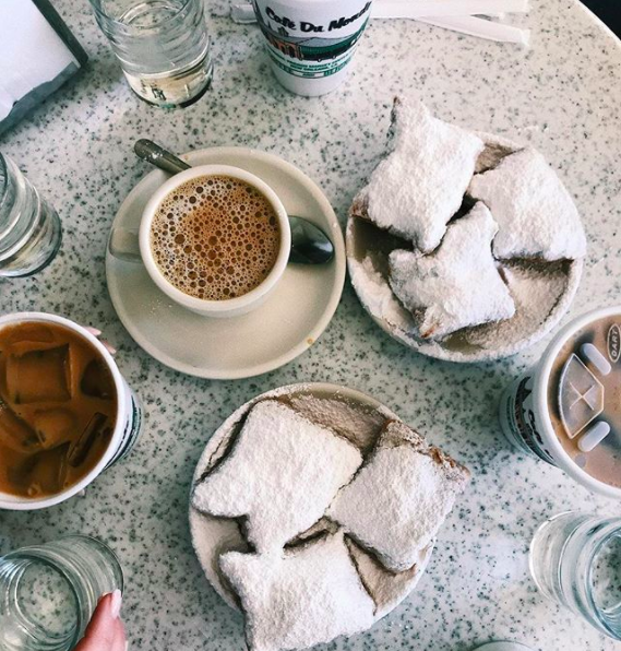 Louisiana: Café du Monde in New Orleans