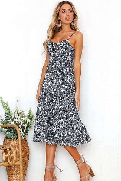ecb2228ec6d A button-front midi that is quite possibly the most perfect sundress of all  time (it s got over 1