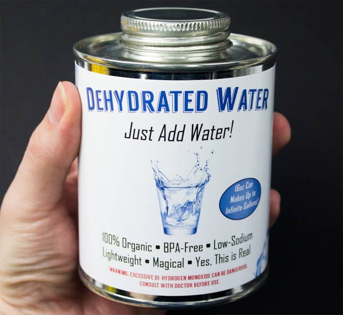 """Promising review: """"Great, and no problems; it was what I thought it was. I just have to add water now!"""" —NickGet it from Amazon for $10.99."""