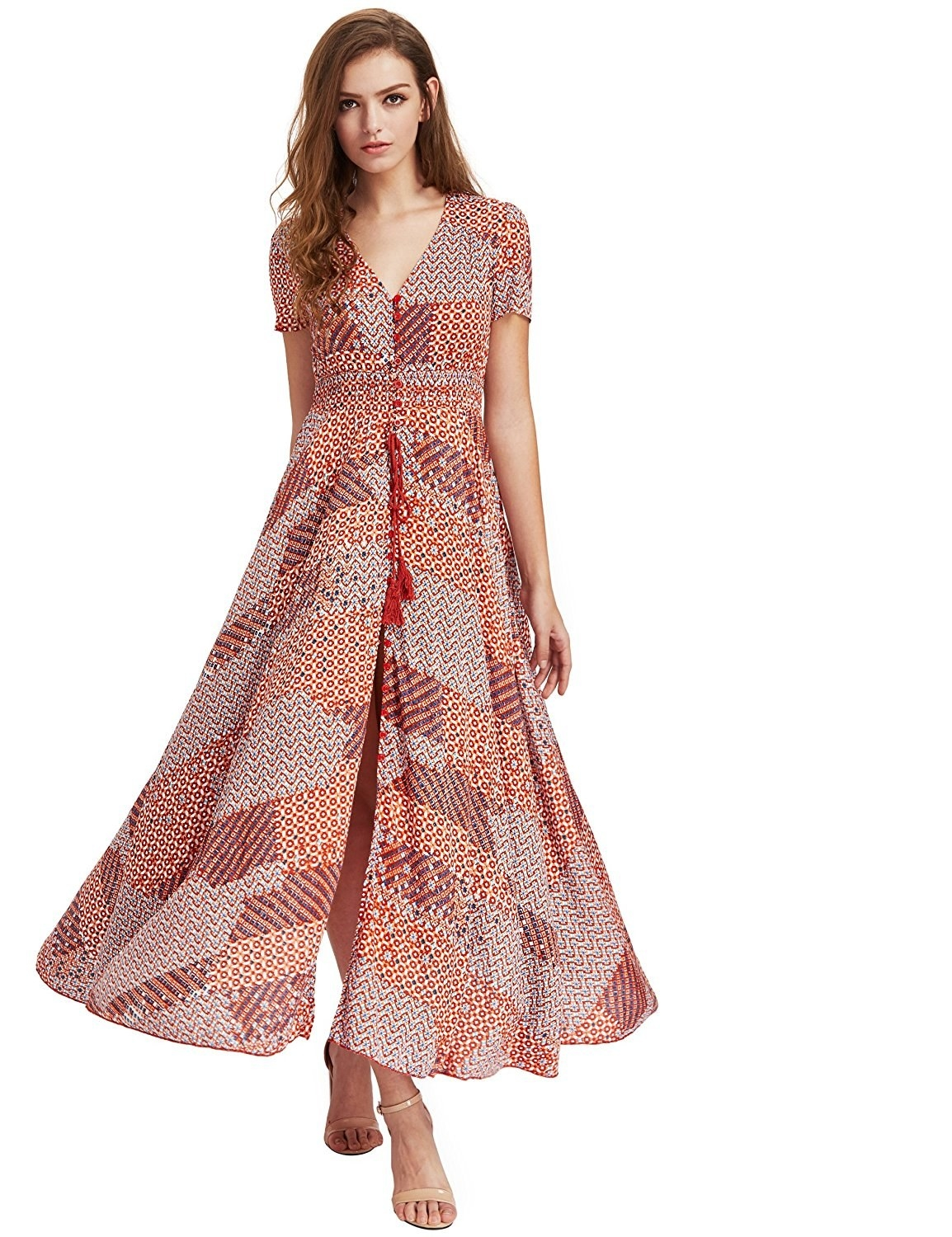 286483383b6 A dramatic boho maxi with its own fan club — it s got over 2